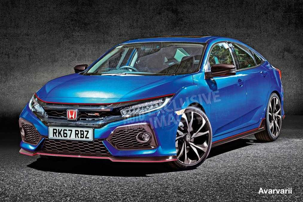 2017 Honda Civic Type R Is Set To Be Unveiled At Paris Motor Show