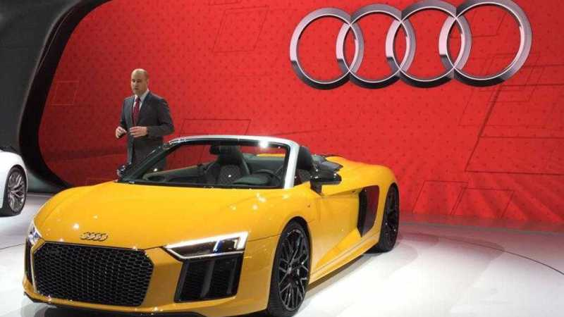 Audi R8 Spyder Revamped With New Design And Technology