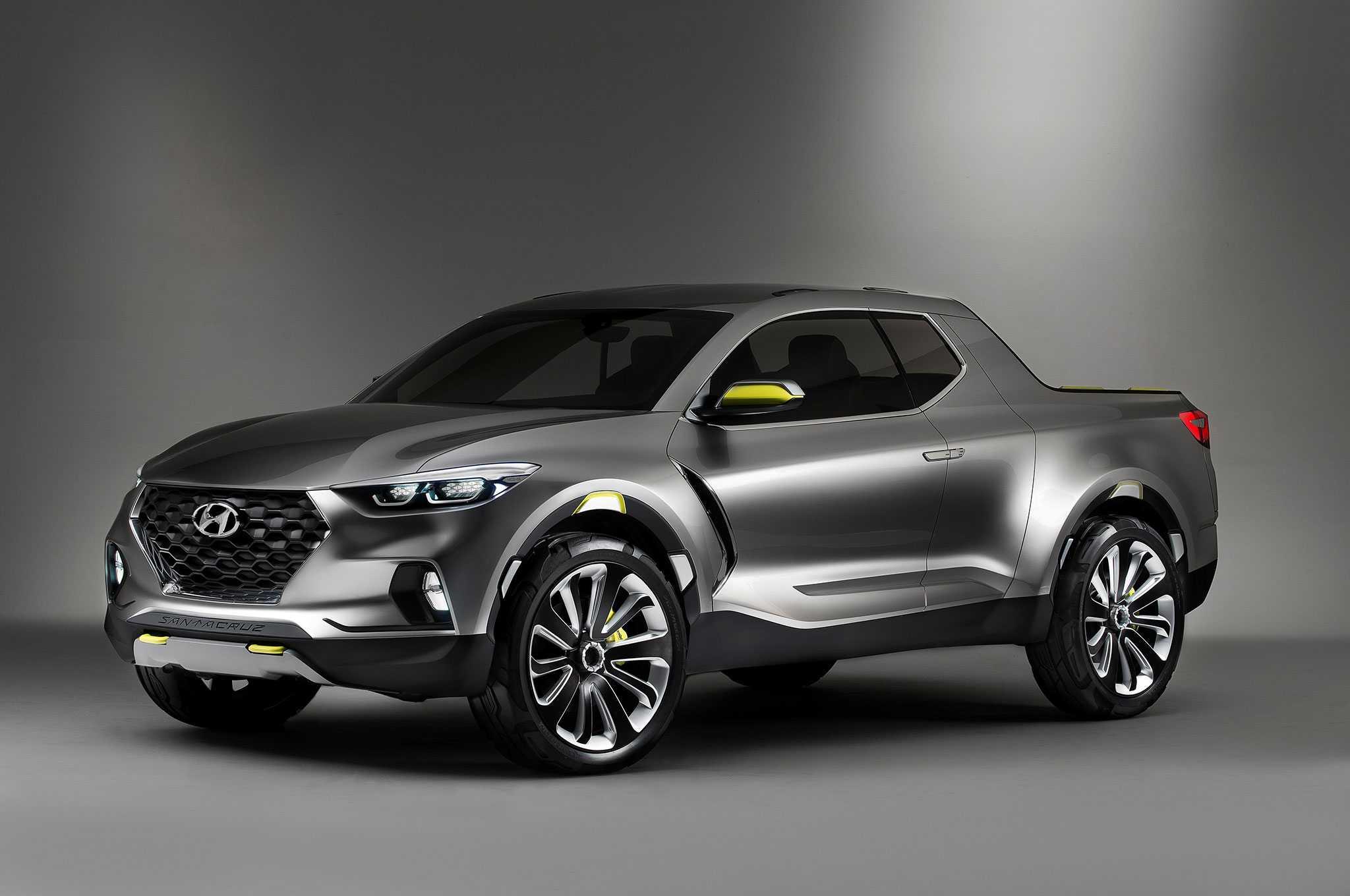 2019 Hyundai Santa Cruz Pickup Truck Nearing Production