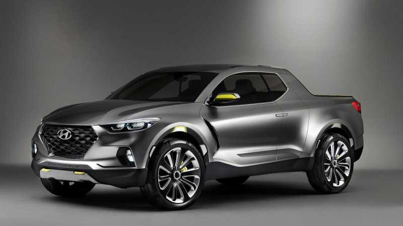 Hyundai Santa Cruz Crossover Truck Front