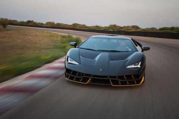 Lamborghini Centenario LP 770 4 front