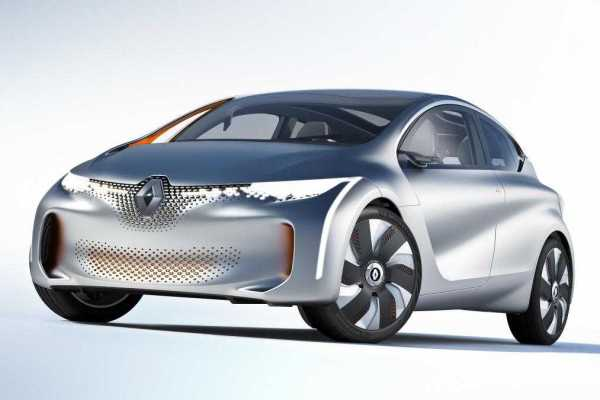 Renault EOLAB at 2014 Paris Auto Show