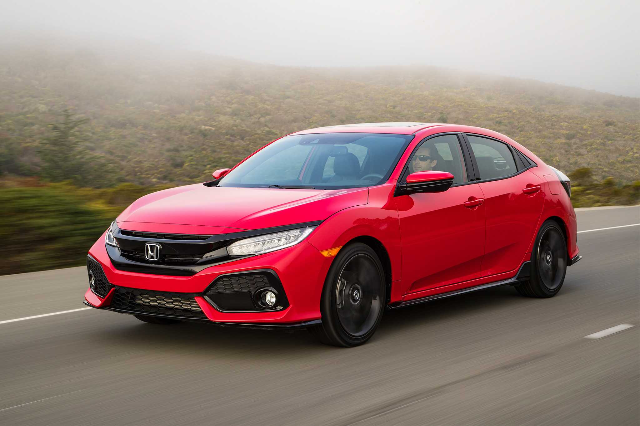 2017 Honda Civic Hatchback Base Model Priced at $20,535