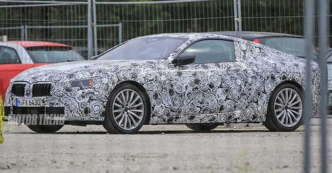 BMW 8 Series Prototype