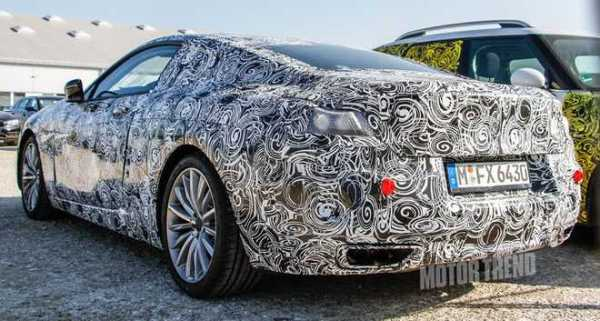BMW 8 Series Prototype rear