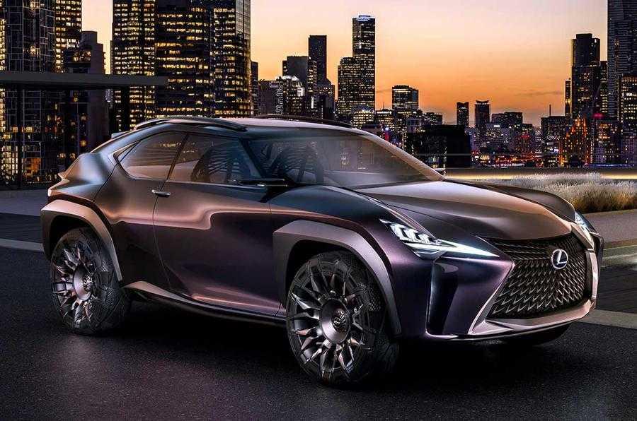 Lexus UX Concept Revealed at the Paris Auto Expo