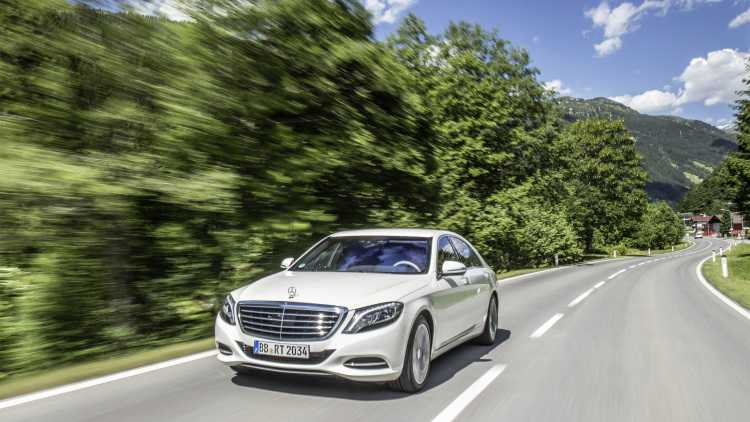 2017 Mercedes-Benz S550e to Be Equipped with Wireless Charging