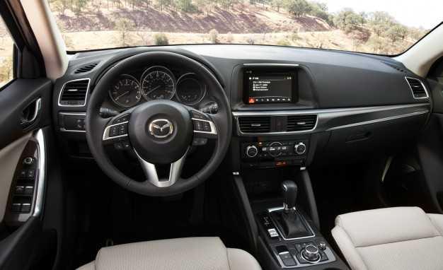 2016.5 Mazda CX-5 Interiors