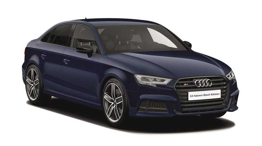 Audi Unveils Special Black Edition For A3, TT, S6 and S7 Variants