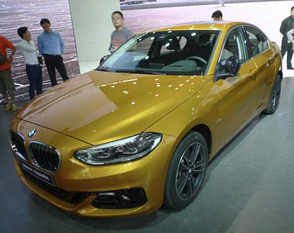 BMW 1-series Becomes Official at the 2016 Guangzhou Auto Show