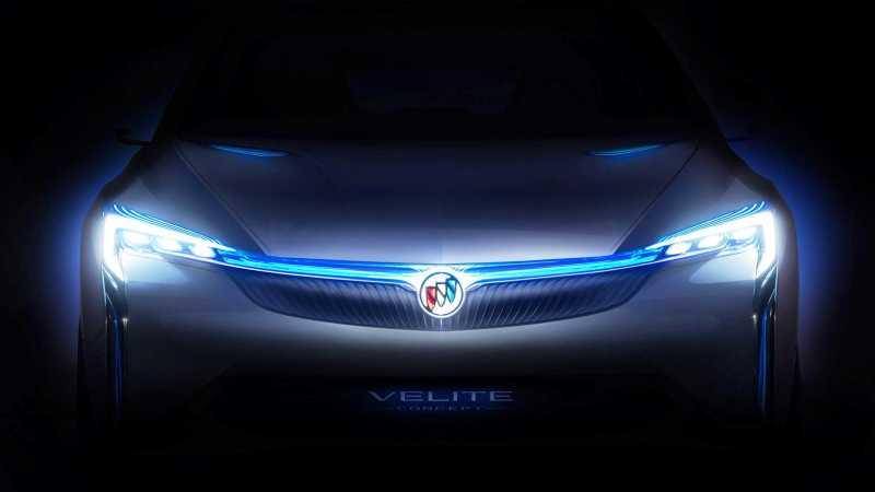 Buick Velite Plug-in Hybrid Model