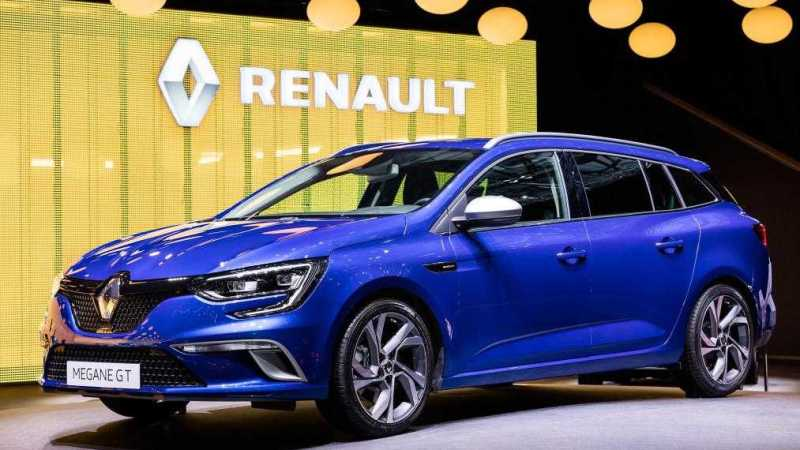 Renault Megane Sport Tourer Revealed