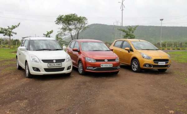 Swift Sport vs Polo and Punto