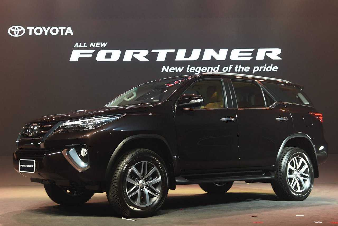 The All-New Redesigned 2016 Toyota Fortuner Launched In India