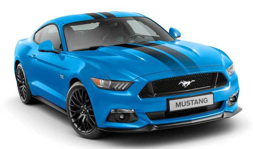 Ford Mustang Black Shadow and Blue Editions Roll into Europe