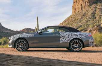 2017 Mercedes E-Class Cabriolet Official Photographs Released
