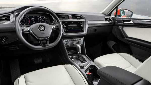 2018 Volkswagen TiguanAllspace interior