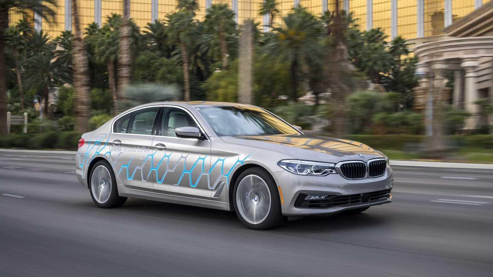 BMW 5 Series Autonomous