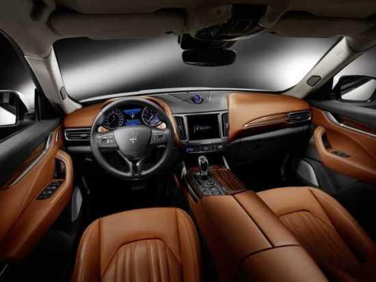 Maserati Levante Interior