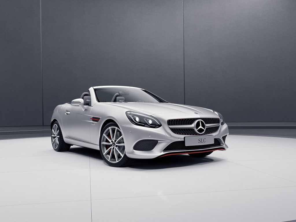 Mercedes Benz-AMG Launch SLC RedArt and SL designo Edition in Europe