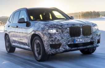 2018 BMW X3 Gets Official Spy Photos from Sweden