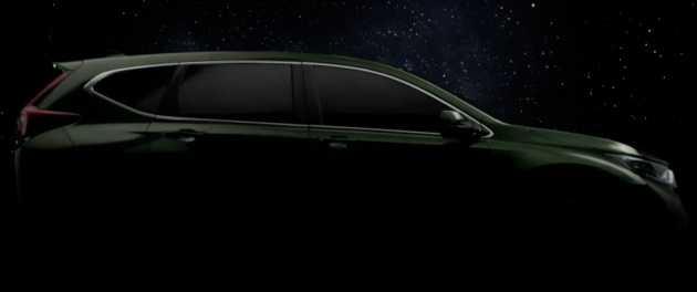 2017 Honda CR-V is a Large 7-Seater Diesel Car, Teaser Images Released in Thailand Event