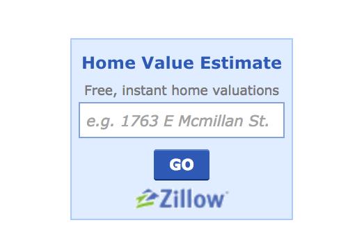 Zillow widget