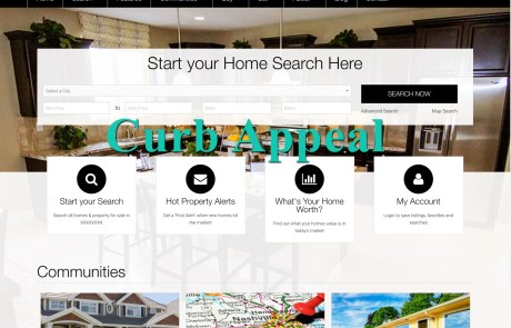 Curb Appeal WordPress Theme by Agent Evolution