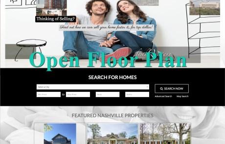 Open Floor Plan WordPress Theme by Agent Evolution