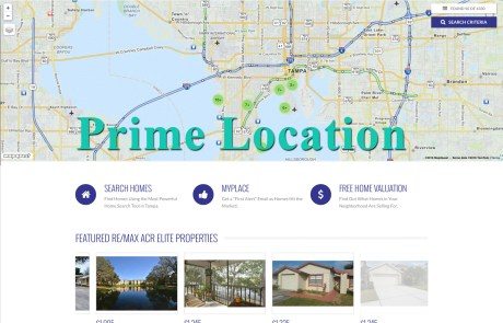 Prime Location WordPress Theme by Agent Evolution