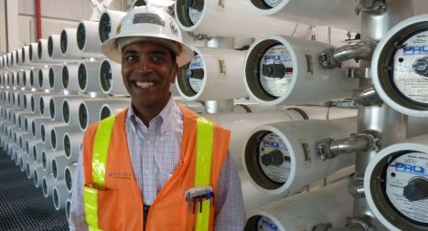 Mehul Patel started as an intern at OCWD and now heads the Groundwater Replenishment System.