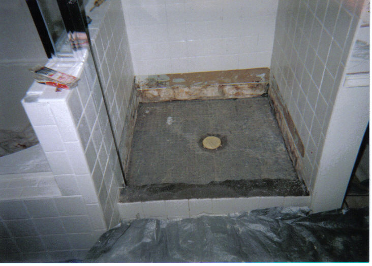 DAMAGED SHOWER PICTURES Bath Kitchen Solutions By YOURSON