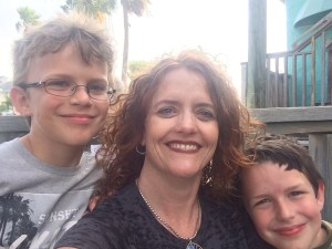 Port Aransas me and Boys May 2015