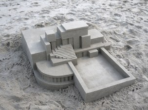Mind-blowing-Geometric-Sandcastles-by-Calvin-Seibert-2