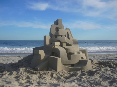 Mind-blowing-Geometric-Sandcastles-by-Calvin-Seibert-8