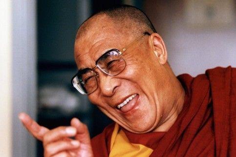 The Laughing Dalai Lama