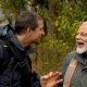 Modi and man vs wild memes and Whatsapp status