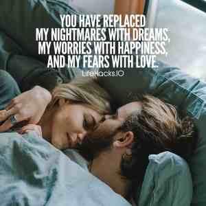 Romantic status for boyfriend