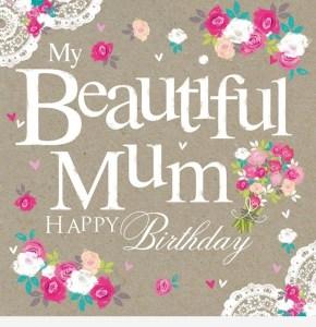 Loving Happy Birthday Status & Messgae Mom from Daughter