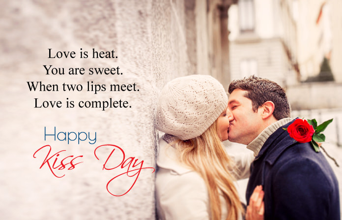 happy kiss day my love images