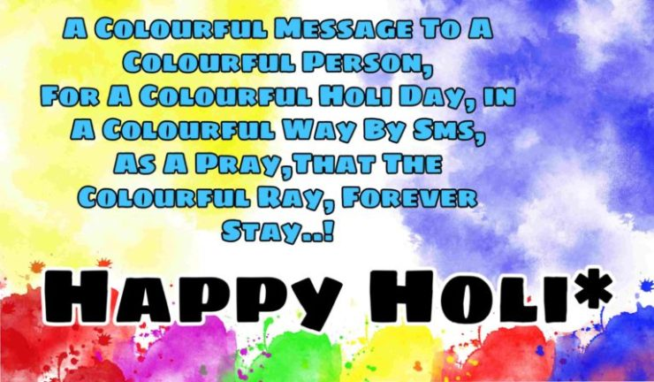 Happy Colorfull Holi Pictures