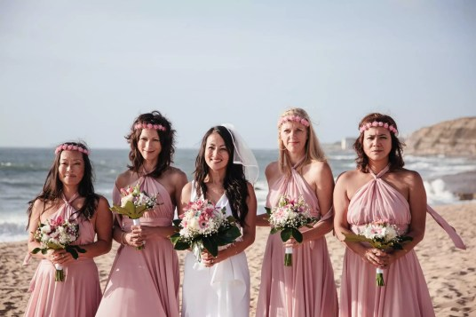 Beach Wedding in Lisbon