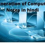 Generation of computer notes in hindi