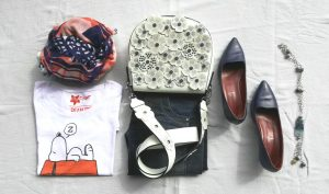 t-shirt, denim and accessories