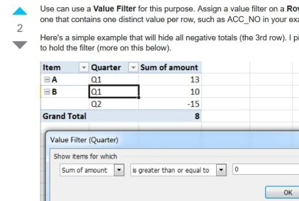 SuperUser Value Filter answer
