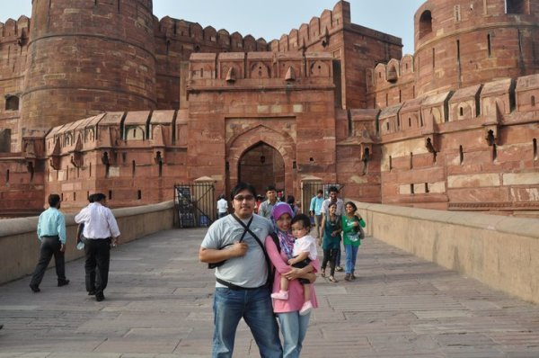 Agra Fort gate.