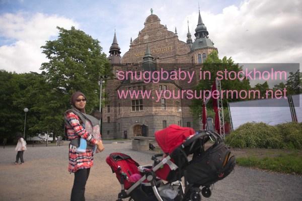 Snuggbaby in Stockholm Djugarden