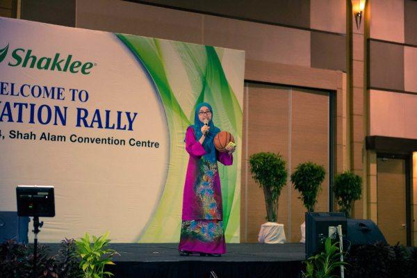 Shaklee Motivation Rally SACC
