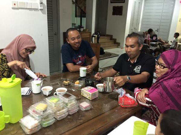 sushi Melayu kuih talam