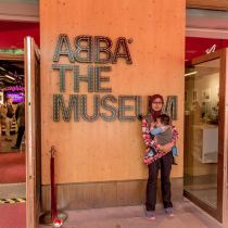 visiting ABBA the Museum - Stockholm 2014